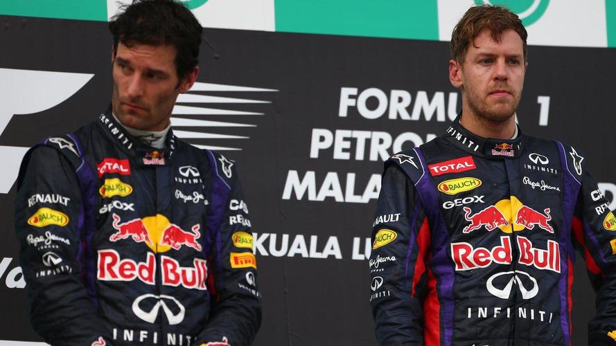 Webber no longer 'at odds' with Vettel