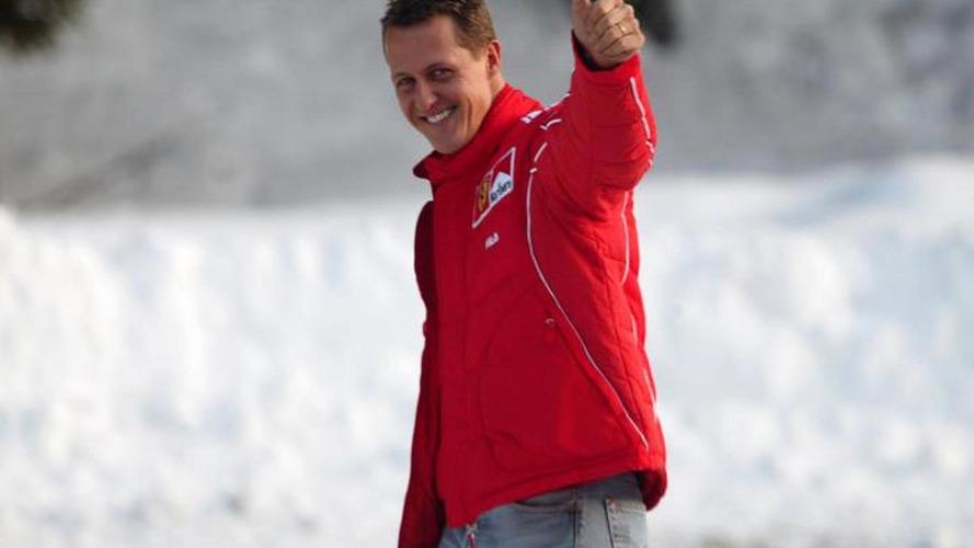 Schumacher starting to wake up