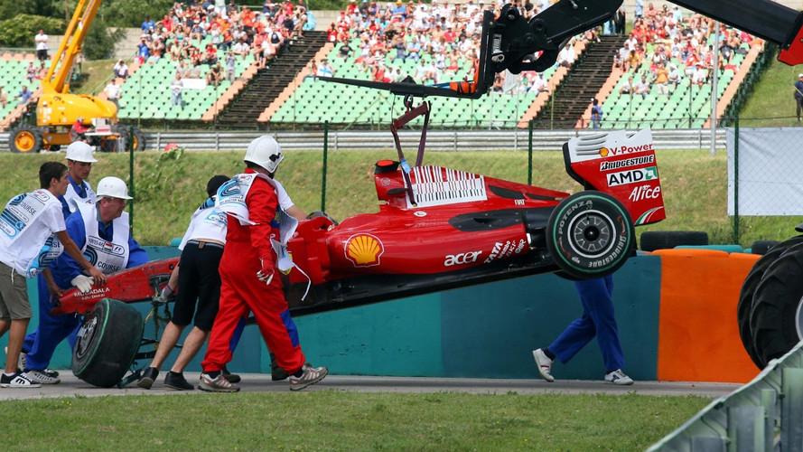 F1 - L'accident de Massa, en Hongrie 2009, vécu depuis la pitlane