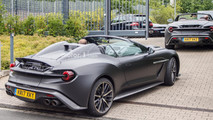 Aston Martin Vanquish Zagato Speedster spy photo