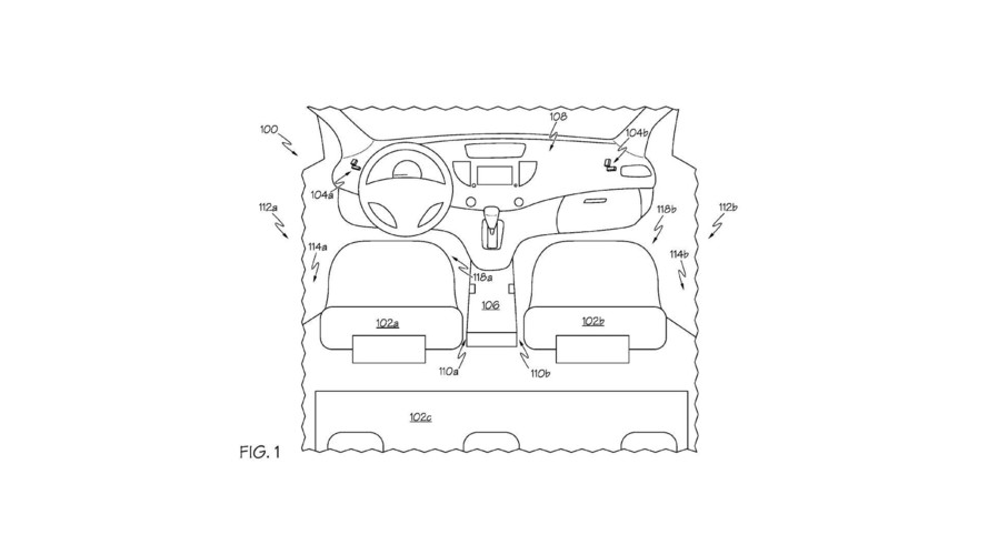 Toyota Under Seat Capture Device Patent