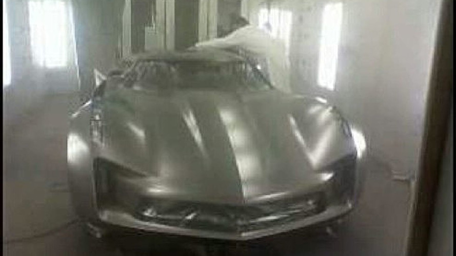 Mystery Transformers Model is a New Corvette Concept?