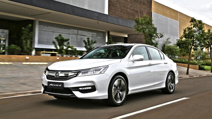 Recall - Honda Accord é chamado no Brasil por falha na bateria