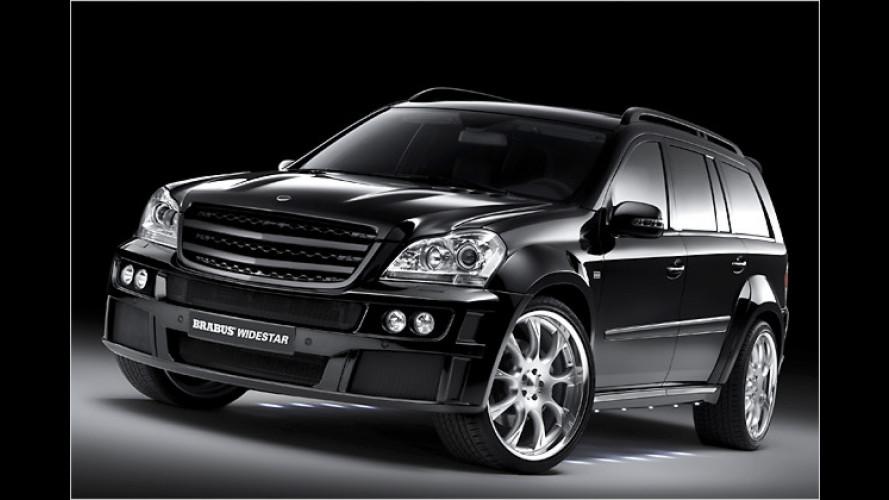 Schwarzer Riese: Mercedes-Benz GL von Brabus
