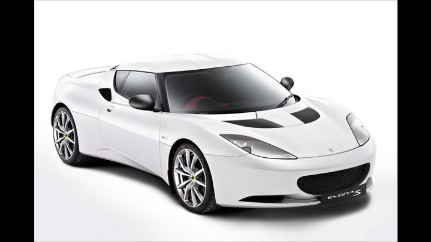 Lotus Evora S: Neue Top-Version mit stärkerem Motor
