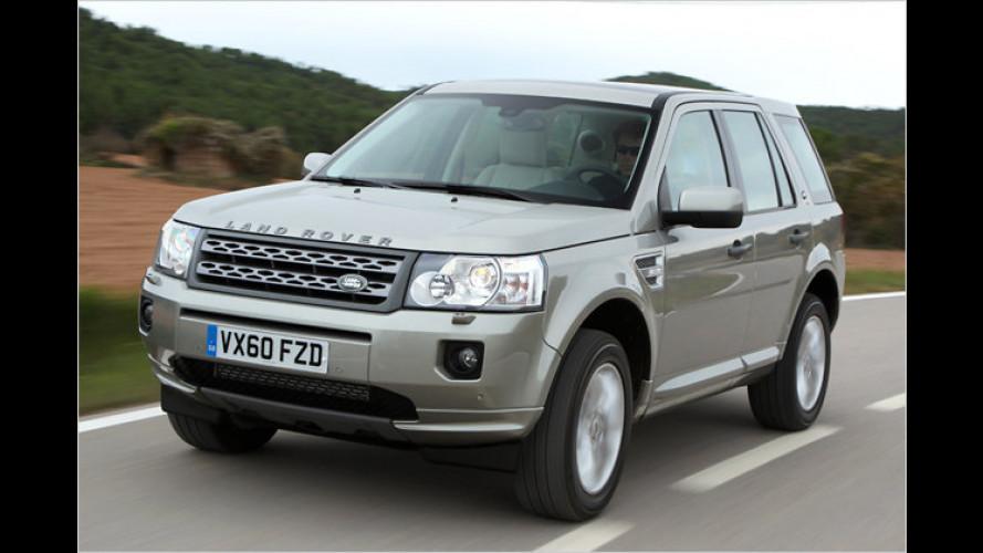 Test Land Rover Freelander: Packt's der Frontantrieb?