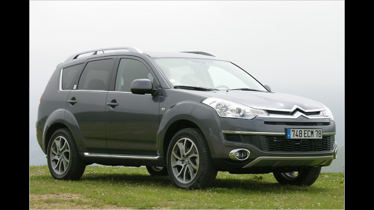 Citroën C-Crosser 2.4 Exclusive Automatik