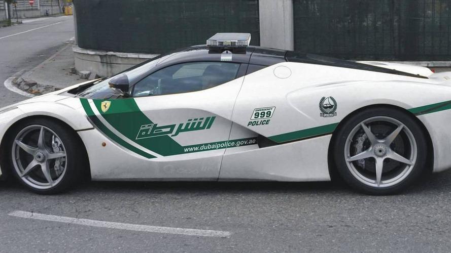 Designer creates Ferrari LaFerrari Dubai Police car