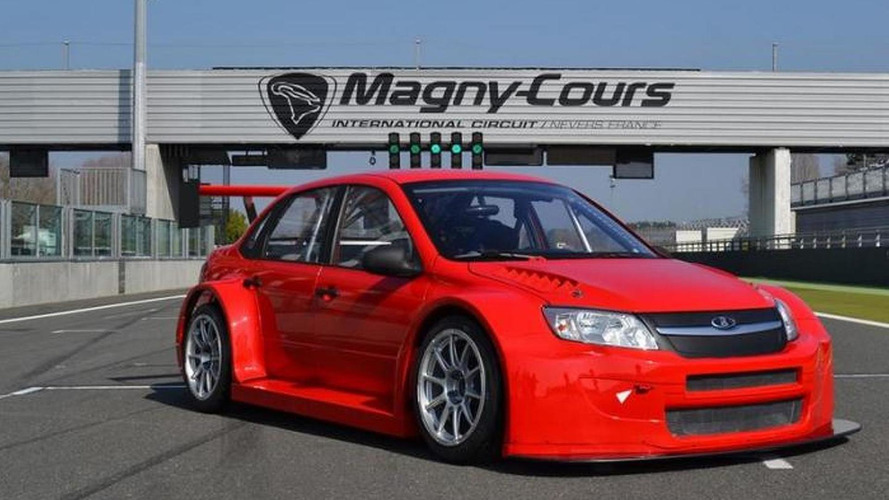 Lada Granta TC1 launched for 2014 WTCC
