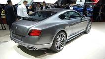 2014 Bentley GT Speed Coupe live in Geneva