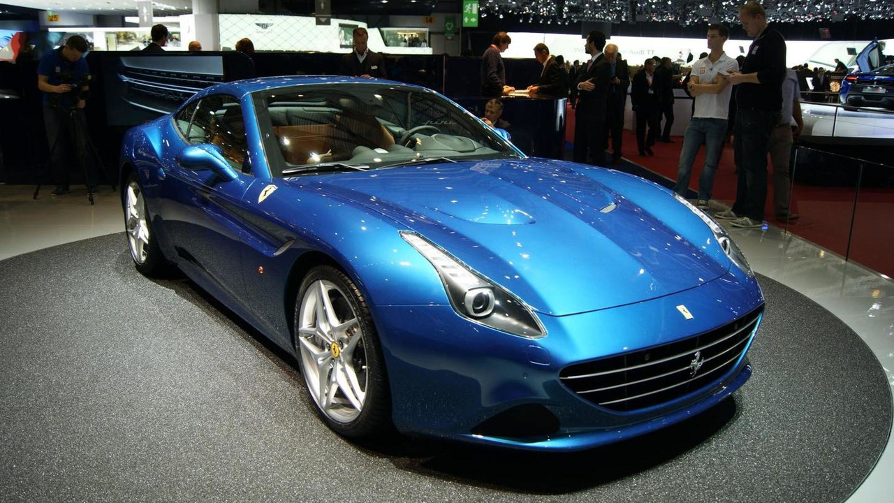 Ferrari California T launched in Geneva