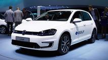 Volkswagen e-Golf live at 2013 Frankfurt Motor Show 12.09.2013