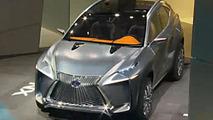Lexus LF-NX crossover concept debut in Frankfurt