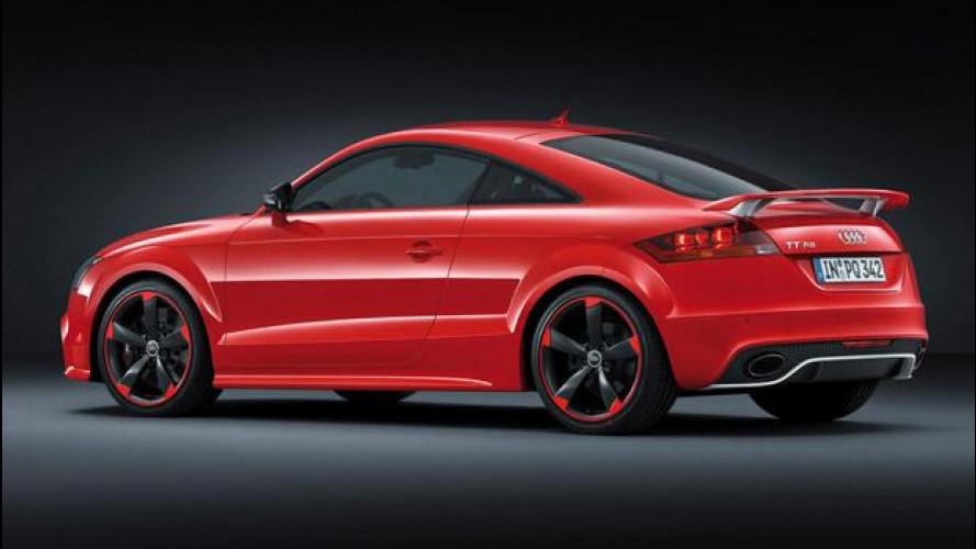 Audi TT RS plus: i prezzi