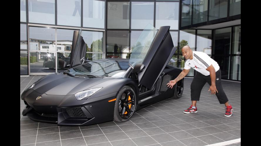 Jonah Lomu, stregato da Lamborghini