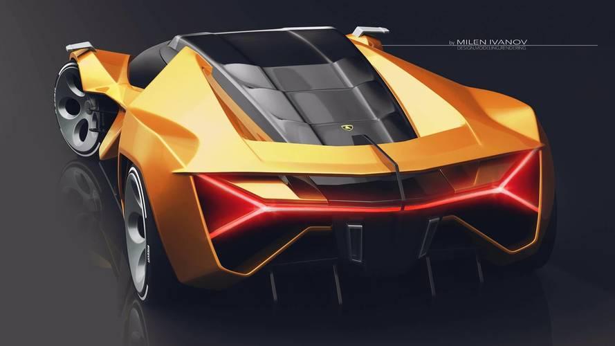 Lamborghini Concepto X Tasarım Yorumu