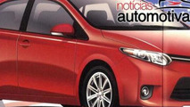 2014 Toyota Corolla brochure leak / Noticias Automotivas