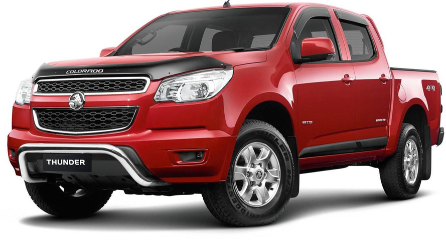 Holden Colorado Thunder special edition announced