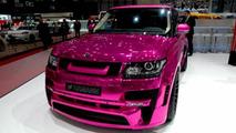 Hamann details its pink Range Rover