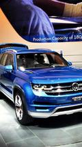 Volkswagen CrossBlue Concept live in Detroit