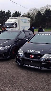 Honda Civic Tourer Type R by Synchro Motorsport