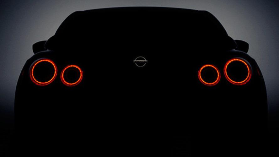 Nissan teases 2017 GT-R for New York