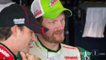 Jeff Gordon and Dale Earnhardt Jr