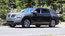 VW CrossBlue Spy Shots