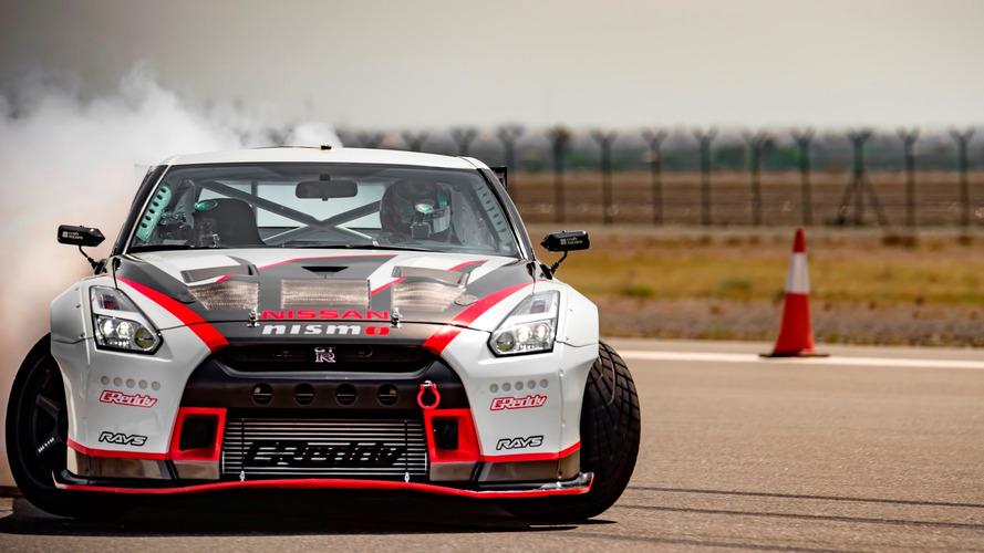 La Nissan GT-R Nismo réalise le record du monde de vitesse en drift