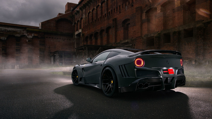 Ferrari F12berlinetta gets a widebody kit & 781 hp