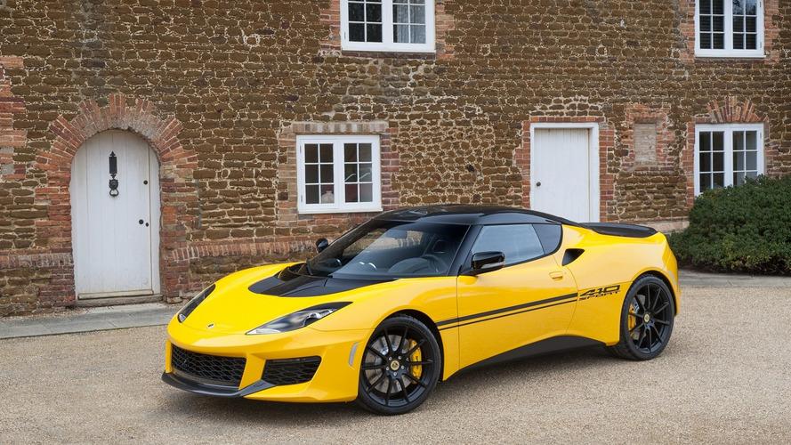 Lotus Evora Sport 410 brings extra 10 hp, 154-lbs diet
