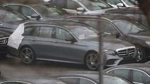 2017 Mercedes E Class Estate spy photo