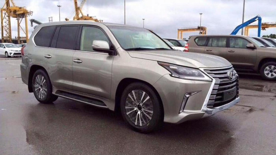 2016 Lexus LX spied undisguised inside and out