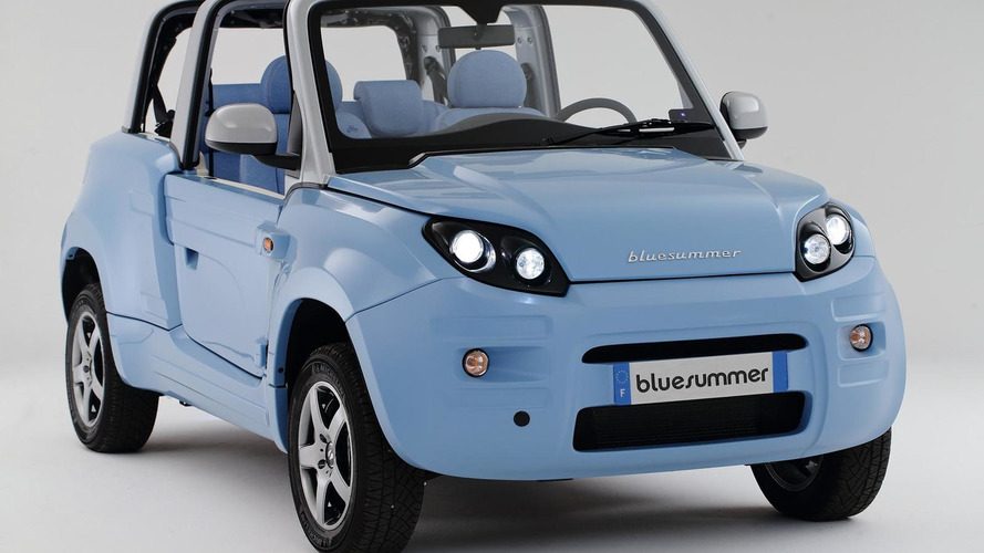 PSA teams up with Bollore to produce the Bluesummer electric four-seater cabrio