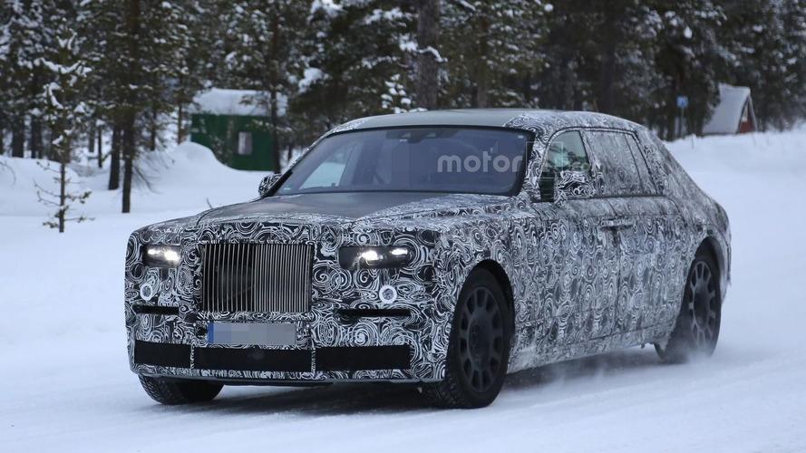 2018 Rolls-Royce Phantom spied with short & long wheelbases