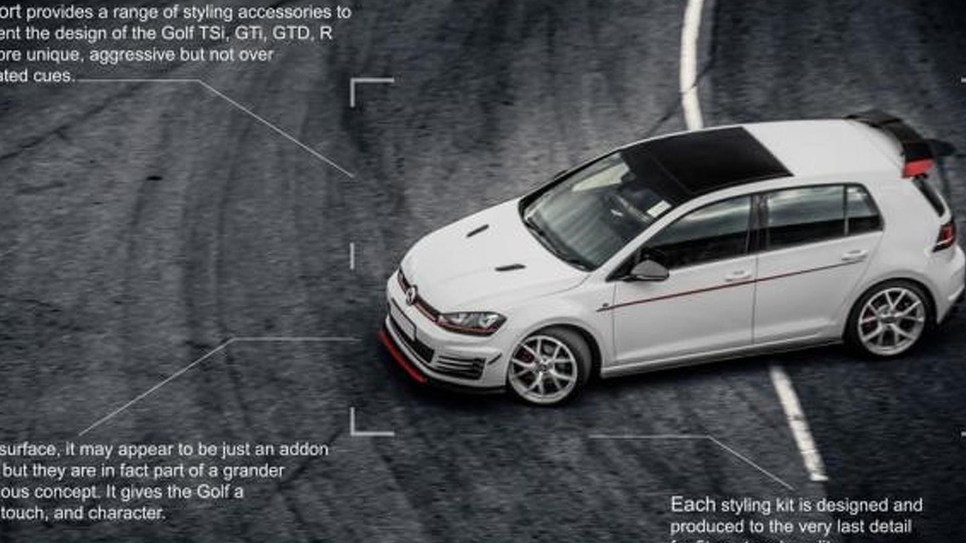 Новый обвес Volkswagen Golf GTI от RevoZport