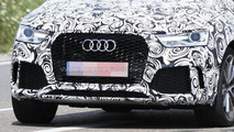Audi Q3 and RS Q3 facelift spied testing together