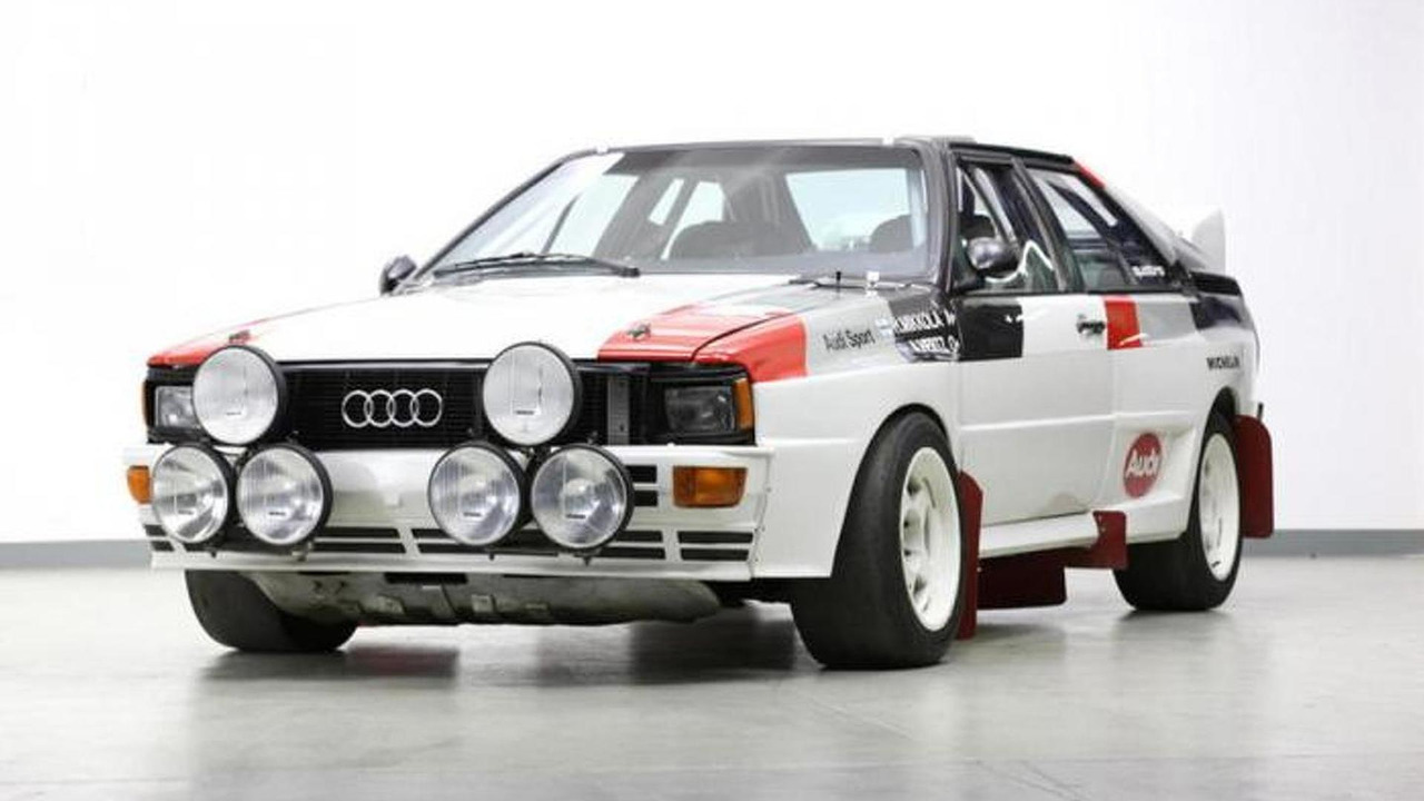 Audi Quattro A1 rally car going for sale