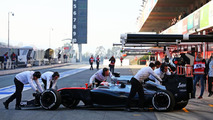 Jenson Button (GBR), McLaren MP4-30, 19.02.2015, Formula One Testing, Day One, Barcelona, Spain / XPB