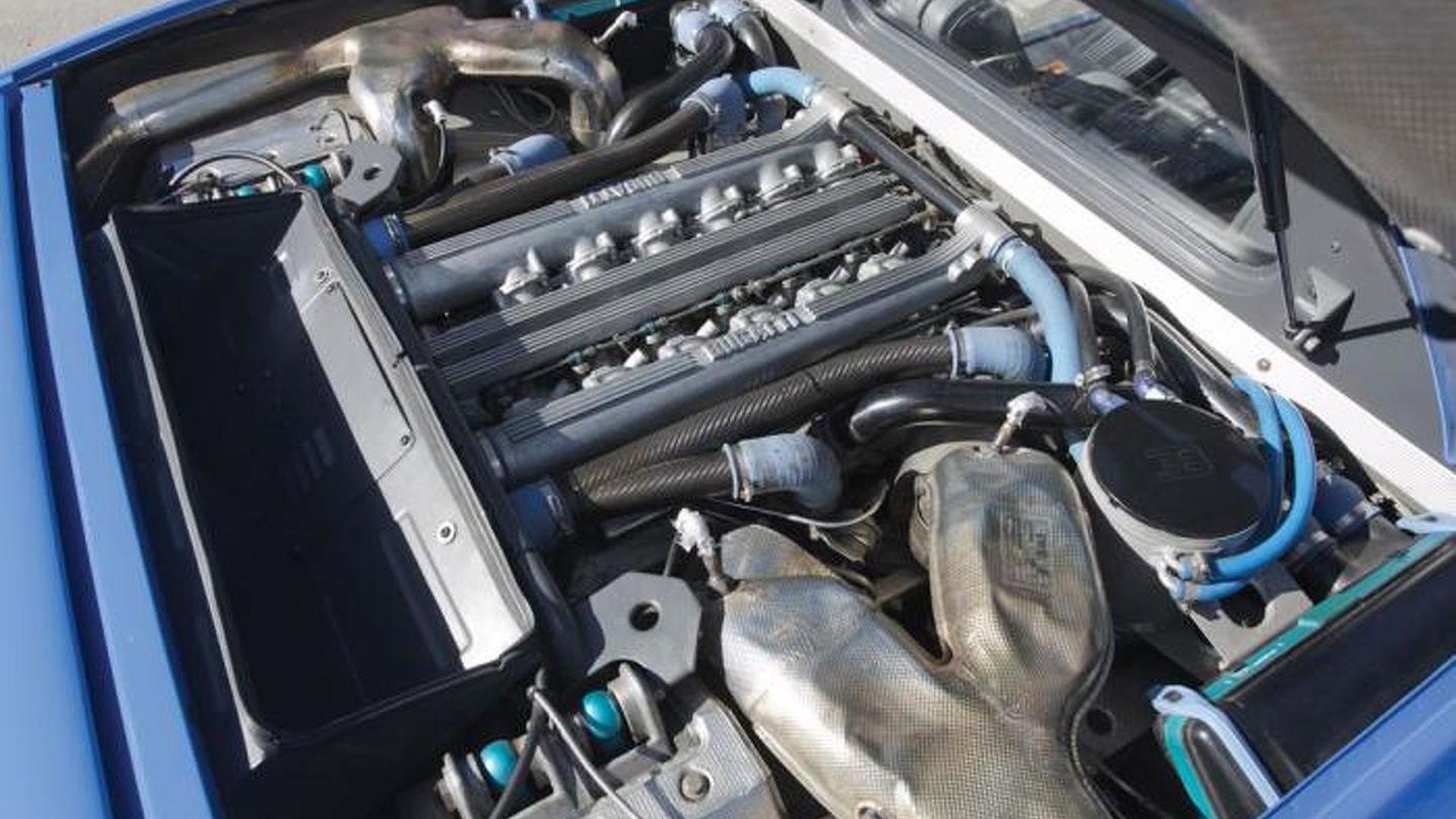 Двигатель Bugatti EB110 GT