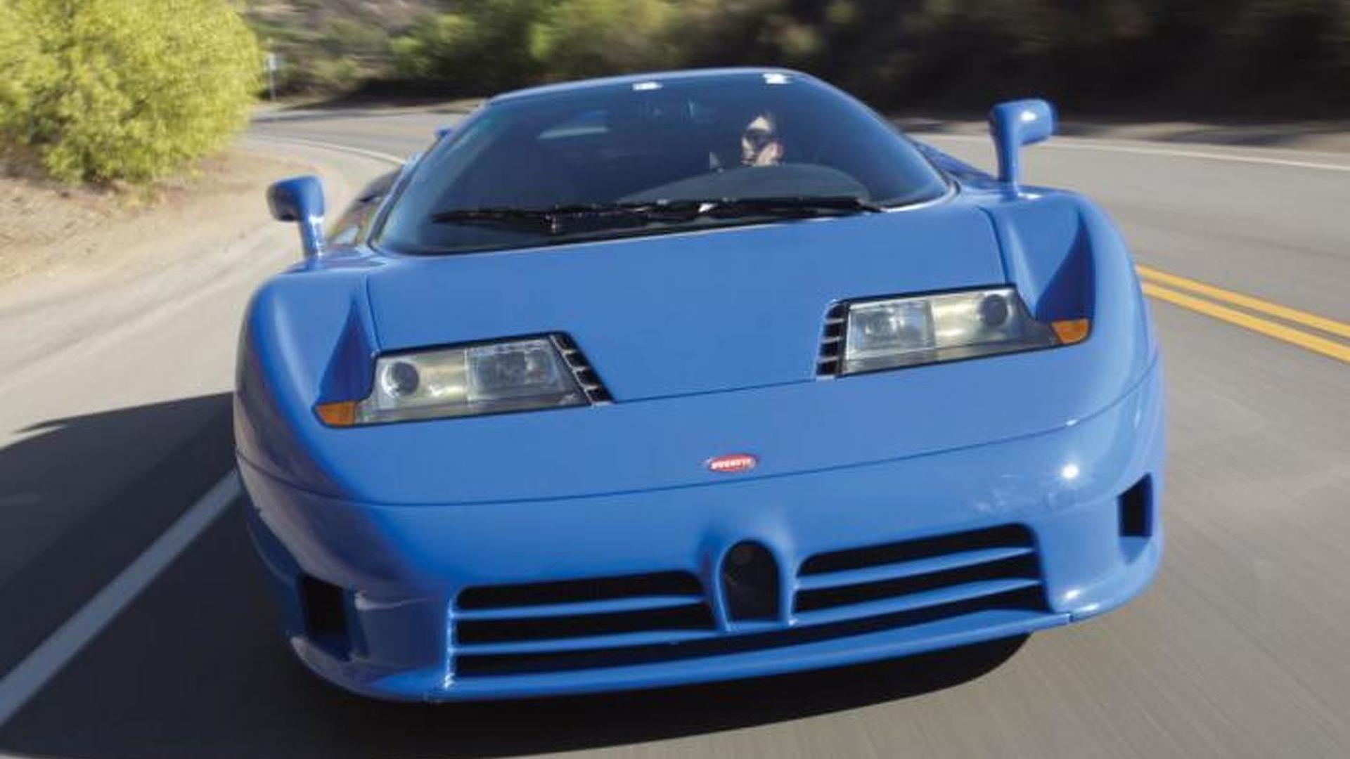 Редкая Bugatti EB110 GT 1993 года выпуска