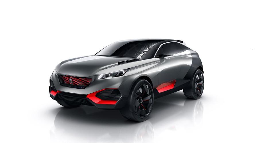 Peugeot Quartz concept with 500 HP hybrid power announced for Paris debut