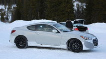2016 Hyundai Genesis Coupe mule spied in Scandinavia