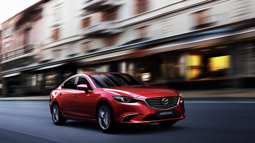 Facelifted Mazda6 priced from 19,795 GBP (UK)