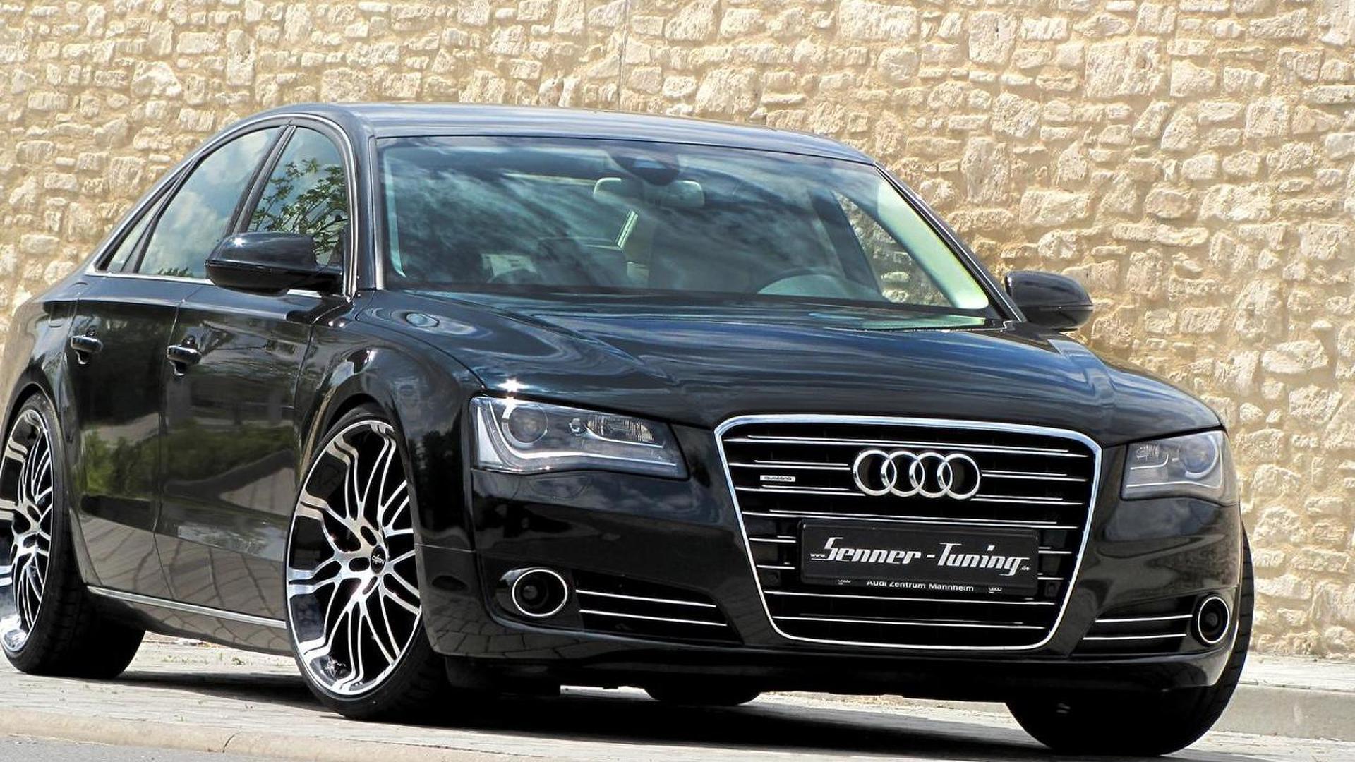 Тюнинг Audi A8 4.2 V8 от Senner