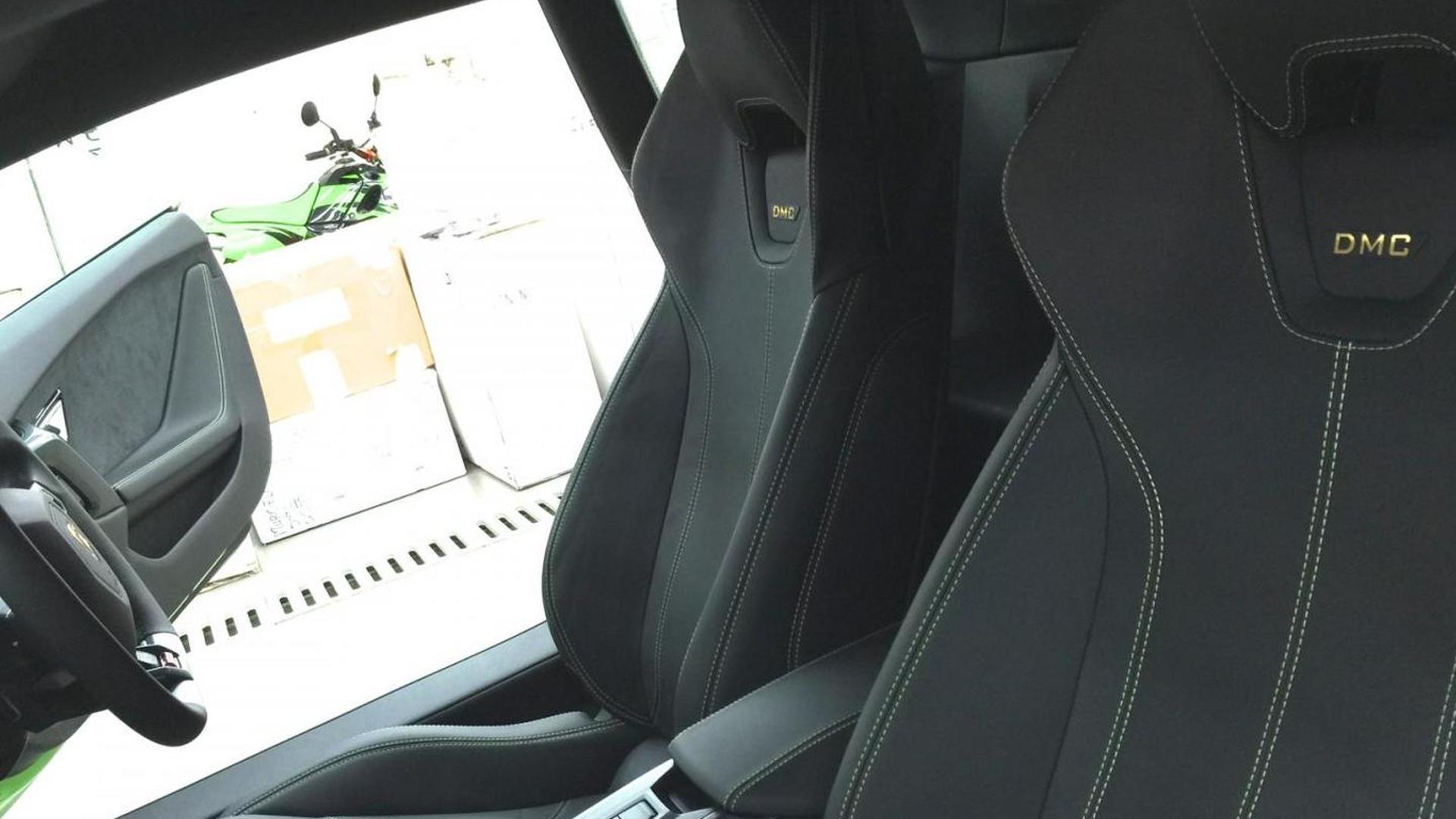 Салон Lamborghini Huracan Affari