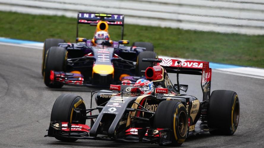Lotus reveals 'intention' to keep Grosjean