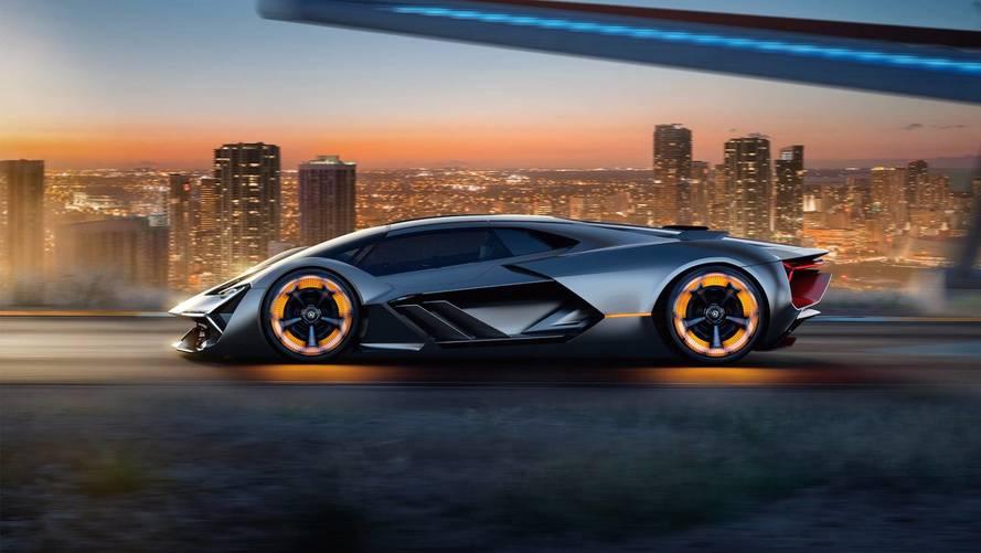 Tamamen elektrikli bir Lamborghini geliyor