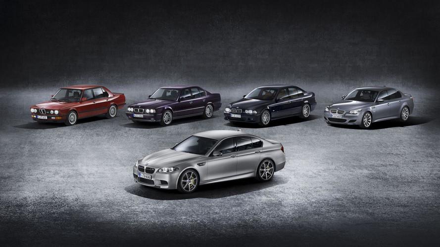 Visszatekintő: fotókon a BMW M5 családfája