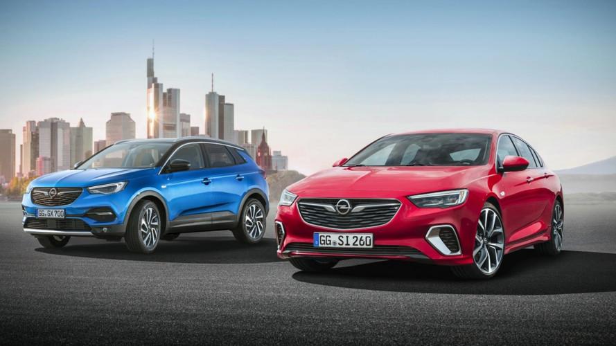 Opel Insignia GSi ve Grandland X Frankfurt yolcusu
